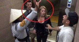 Gran susto entre los afectados por la broma Mortal Kombat en el ascensor