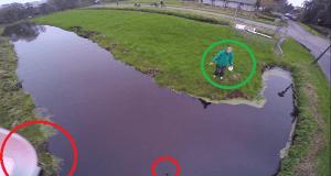 Rescate a un dron en el último segundo