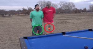 Impresionantes trucos de billar