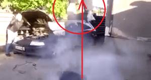 Broma del airbag, un expermiento muy loco