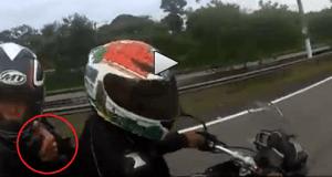 Atraco moto
