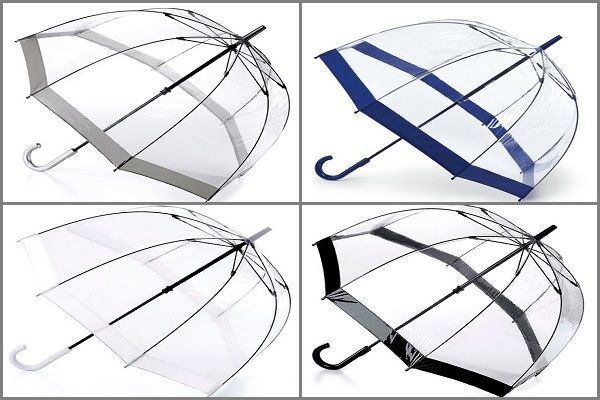 Paraguas transparente Fulton