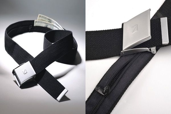Cinturón porta dinero y antirrobo para cuando viajes