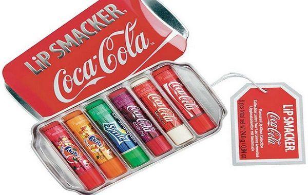 Bálsamo labial sabor coca cola