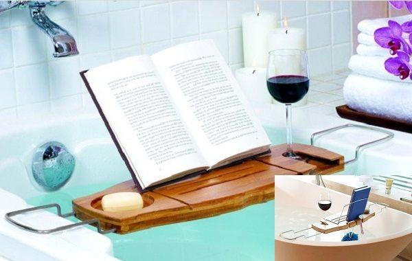 Bandeja extensible para bañeras