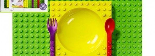¡Con esta Vajilla de Lego tu bebé disfrutará de comida y diversión al mismo tiempo!