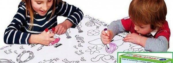 Mantel lavable para niños