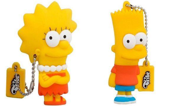 Memoria USB de los Simpson
