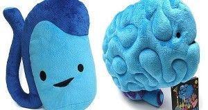 Peluches originales ¡Cerebro y Testículo!