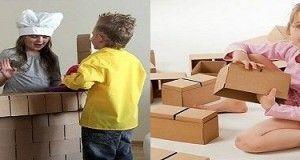 Bloque de construcción de cartón XXL ¡Has que tu hijo sea un verdadero diseñador!