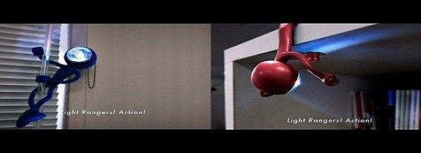 «Linterna agente secreto» Infiltra esta lámpara en los lugares más inhóspitos de tu casa