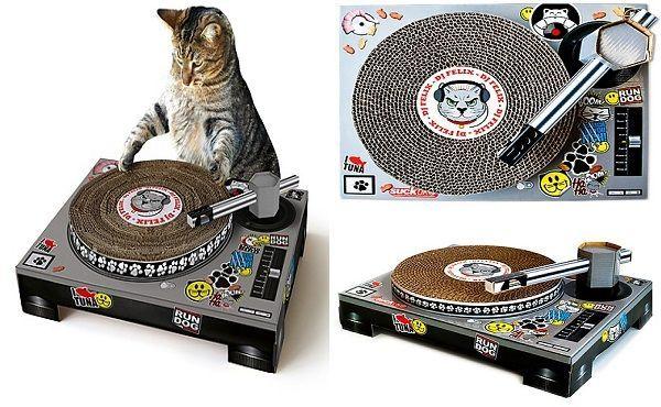 Rascador para gatos mesa-dj