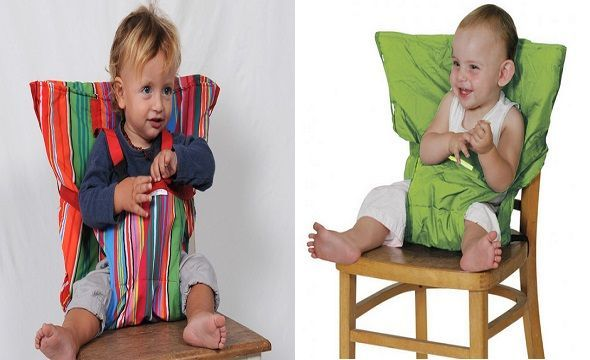 Trona portátil para bebes