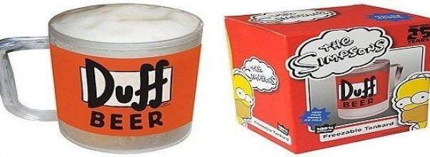 «Jarra de cerveza Duff Beer» ¡Disfruta hasta la última gota como Homer Simpson!