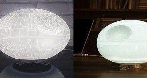 Lámpara Star War Estrella de la Muerte ¡Ilumina tu lado oscuro!