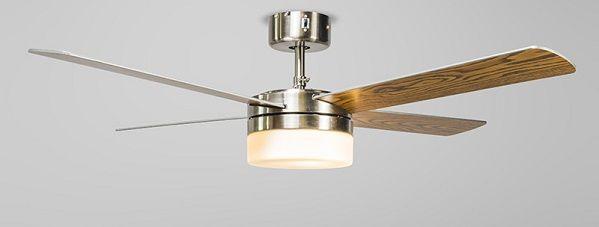 Lámpara ventilador muy bonita para el despacho de la casa