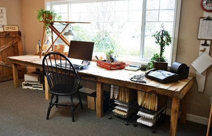 muebles de oficina reciclados