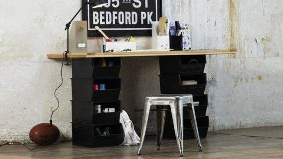 muebles oficina reciclados