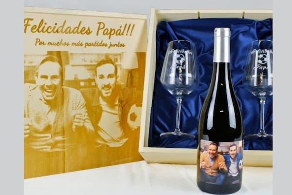 regalar botella vino personalizada