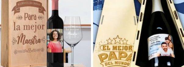 Vinos personalizados para regalar ¡Crea tu propio vino!